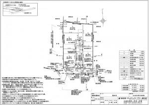 道路位置指定の図面